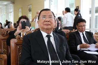 chin peng funeral 230913 former thai pm Chawalit Yongjaiyuth