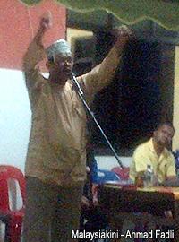 sg limau by election umno ceramah 241013 fuzin abdul hamid