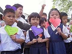 damansara school open 030107 new pupils