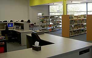 australia media visit 290107 islamic college library