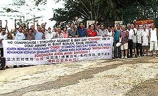 bukit koman gold mining cyanide 010207 group