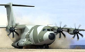 airbus A400 military transport aircraft 250105