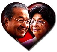 mahathir and siti hasmah love and marriage