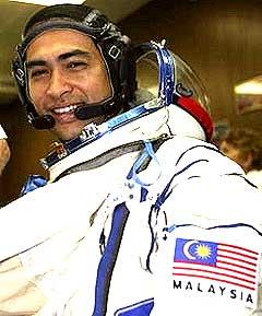 malaysia astronaut dr sheikh muszaphar shukor
