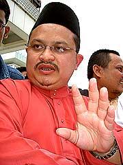 opposition demo on lingam tape 280907 shamsul iskandar